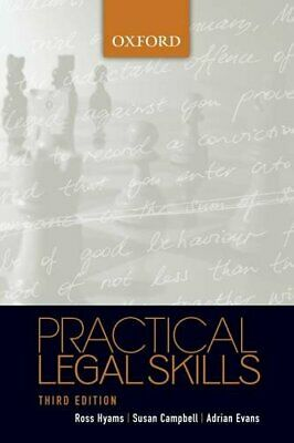 Practical Legal Skills by Evans, Adrian Paperback Book The Cheap Fast Free Post
