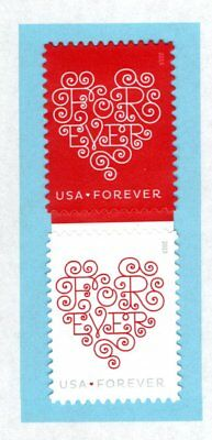 4955-56 2015 Forever Hearts / Love Stamps MNH