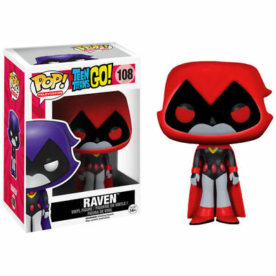 Funko Pop! Television Teen Titans Go! RAVEN (Red) #108 **CLEARANCE**