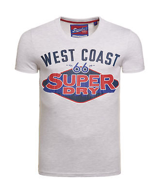 New Mens Superdry Reworked Classic Cal Ice Marl