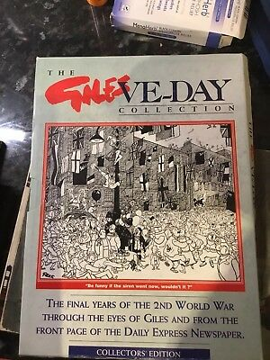 Giles Cartoon Annual Collectors Edition VE-DAY BOOK
