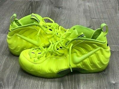 "hot sale online 8f836 5e977 Men s Nike Air Foamposite One Pro Volt Yellow ""Tennis Ball"" 624041-700 Size"