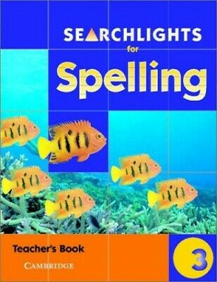 Searchlights for Spelling Year 3 Teacher's Book by Corbett, Pie Paperback Book
