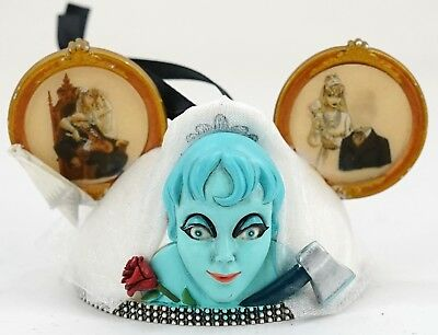 NEW Disney Haunted Mansion The Bride Constance Mickey Ear Ornament LE2000