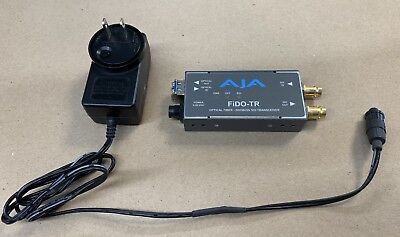 AJA FiDO-TR Dual Channel SDI to LC Fiber Bidirectional Mini Converter