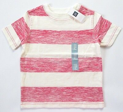 NEW Baby GAP Toddler Boys 18-24 mos Striped Cotton T-Shirt
