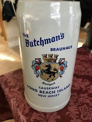 Merzy & Remt German Stein The Dutchman's Brauhaus Long Beach Island NJ