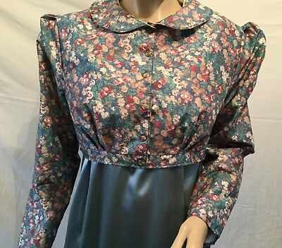 Regency Dress, Jane Austen, Plus Spencer, Fully Lined, Sz16, Free P&P