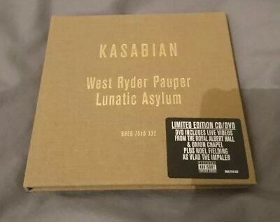 Kasabian - West Ryder Pauper Lunatic Asylum Special  CD/DVD