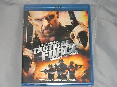 Tactical Force (Blu-ray Disc, 2011, Canadian)**STONE COLD!!**NEW!FREE SHIPPING!!