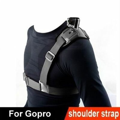 Gopro Accessories Shoulder Strap Mount Chest Harness Adapter For Go Pro Camera