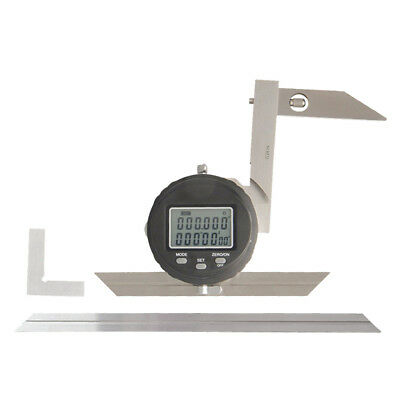 "High Precision Digital Protractors 360° Goniometer, 30""/ 0.008 Resolution"