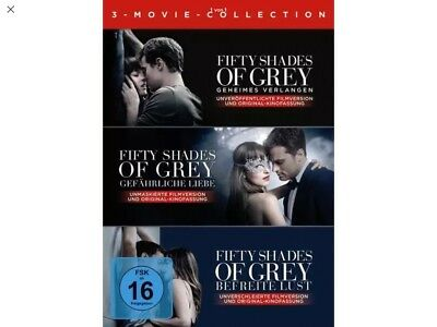 Fifty Shades of Grey - 3-Movie Collection  [3 DVDs]