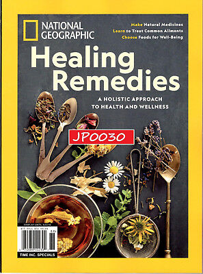 National Geographic 2018, Healing Remedies, Brand New/Sealed