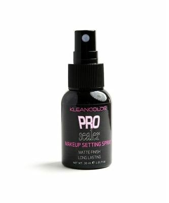 Pro Sealer Makeup Matte Finish Setting Spray