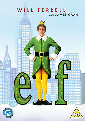 Elf DVD (2018) Will Ferrell, Favreau (DIR) cert PG Expertly Refurbished Product