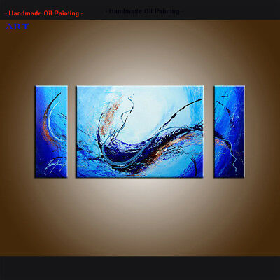 Large Framed Contemporary Modern Abstract Oil Painting On Canvas Wall Art Decor