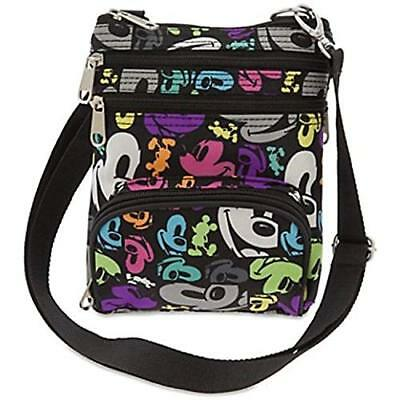Disney Parks Crossbody Bag Mickey Mouse Colorful Pop Art