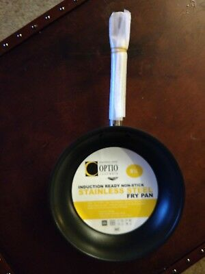 """Vollrath 'Optio"""" 9.5"""" Stainless Induction Pans Non-Stick - New"""