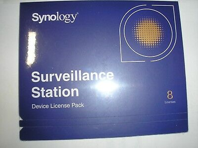 SYNOLOGY IP CAMERA 8-License Pack Kit for Surveillance