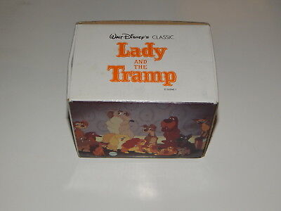 Vintage ''LADY and the TRAMP'' Walt DISNEY Coffee Mug / Cup - New R19421