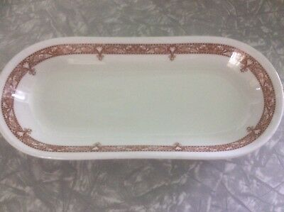 Vintage SHENANGO CHINA Restaurantware Celery Butter Relish Dish OVAL EDGEMERE