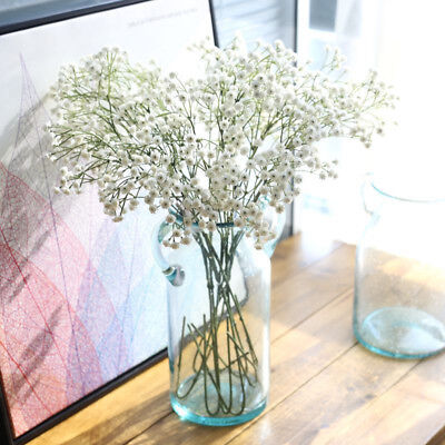 Plastic Gypsophila Baby's Breath Gyp Sprays - Artificial Flowers Home Decoration