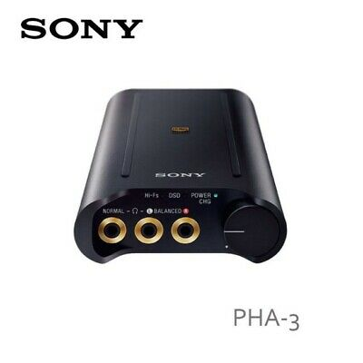 3a8d52f2237 SONY PHA-3 PORTABLE High-Resolution DAC Headphone Amplifier (Black ...