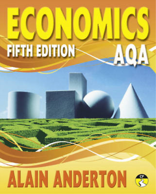 AQA A Level Economics Student Book, Mr Alain Anderton, Used; Good Book