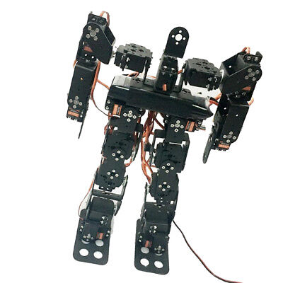 17DOF Biped Humanoid Robot Kits Free Video Tutorial Support Sing Dance