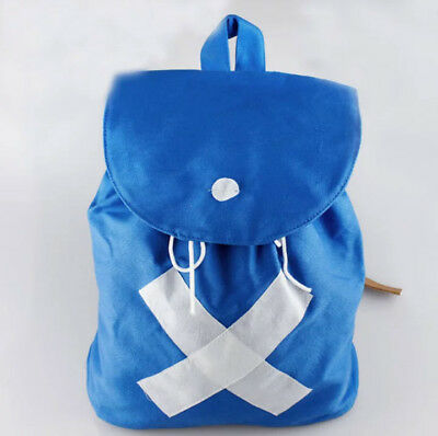 Anime ONE PIECE CHOPPER Backpack Shoulder Bag Canvas Blue Bag Cosplay School Bag