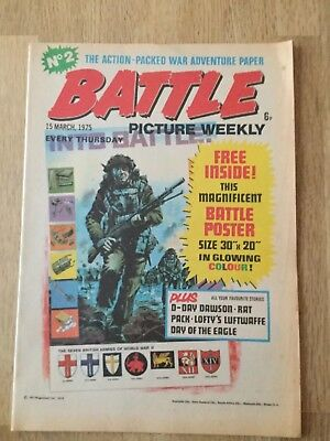 Battle Picture Weekly No.2 March 15th 1975