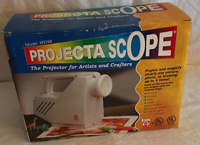 Projecta Scope Magnifier Projector Drawing Tracing for Artists Crafters PJ768