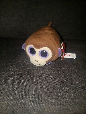 56a172d0230 TY Beanie Boos - Teeny Tys Stackable Plush - MONKEY BOO the Monkey (4 inch