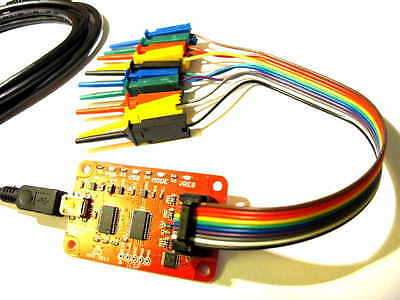 BUS Pirate V3.6 [clone] + cable with probes - interface, analyzer & programmer