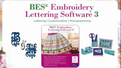 Brother BES  Lettering Software  3
