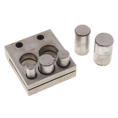 Disc Cutter Set 5 Sizes Cut Circular Metal Discs Round Jewelry Round Shapes