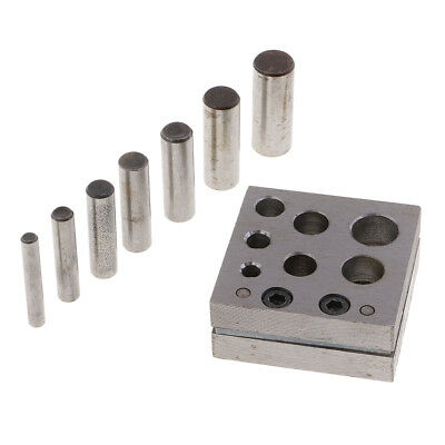Disc Cutter Set 7 Sizes Cut Circular Metal Discs Round Jewelry Round Shapes