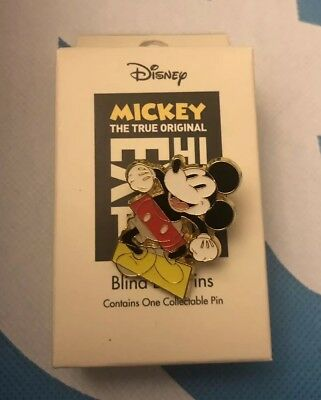 Mickey Mouse Chase Pin 90 Years True Original NYC Exhibition Blind Box Disney