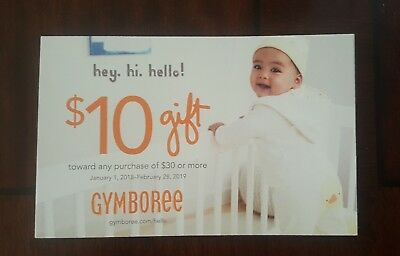 GYMBOREE Coupon - $10 off $30 purchase