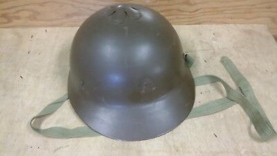 WWII IMPERIAL JAPAN NAVY LANDING FORCES CHERRY BLOSSOM HELMET~Nakata Repro