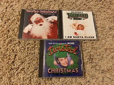 Bob Rivers Twisted Christmas.Bob Rivers Lot Of 10 Cds Brand New 75 00 Picclick