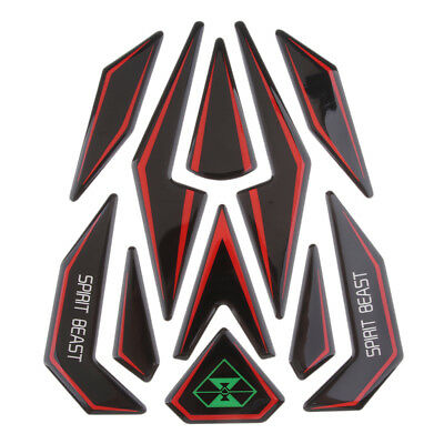 3D Motorcycle Gas Fuel Tank Pad Protector Sticker Decal Reflective for Honda
