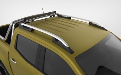 Mercedes X Class Grey Roof Rail Roof Bar 2017 Onward ( Cross Bar Not Included )