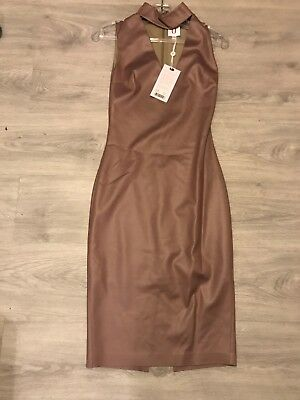 Forever Unique Dress In Nude Size 8 BRAND NEW
