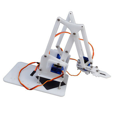 4DOF Fully Assembled Mechanical Robotic Arm Clamp Claw For Arduino Raspberry