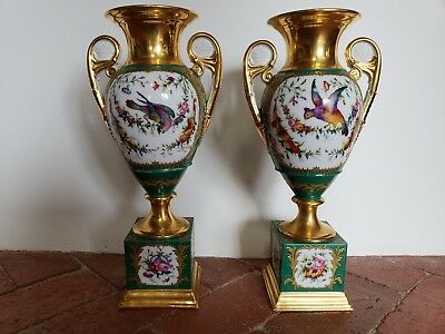 Pair Of French Empire Urns, Early 19th Century