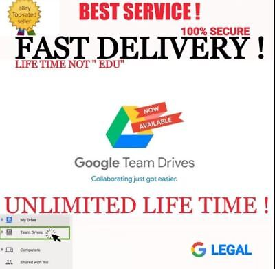 Google Drive Unlimited Storage On Your Existing Account ✅Lifetime Access✅Secure