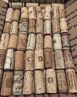 Bulk Lot of 289 Wine Corks All NATURAL NO Synthetics or Champagne crafts