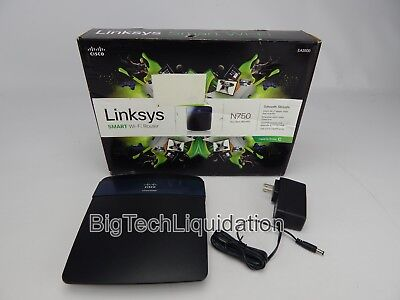 LINKSYS SMART WI-FI Dual Band Wireless Router N750 (EA3500